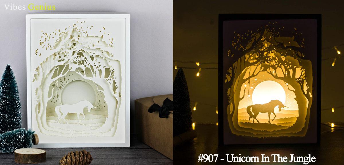 907-Unicorn In The Jungle